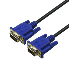 SIPU high speed 5.5mm black color vga 3+2 cable for computer 5m vga cable price wholesale vga splitter